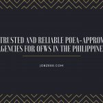 10 Trusted and Reliable POEA-Approved Agencies for OFWs in the Philippines