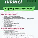 3D Quality Assurance Analyst