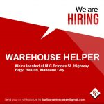 Warehouse Helper