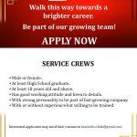 Service Crews