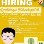 Radiologic Technologist III