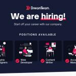 DreamTeam PH Hiring in Iligan (Web Developer, Graphic Designer, Finance and Administration Specialist