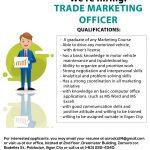 Trade Marketing Officer