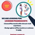Licensed Pharmacists