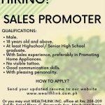 Sales Promoter