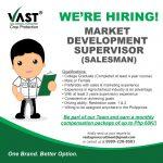 Market Development Supervisor