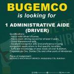 Administrative Aide(Driver)