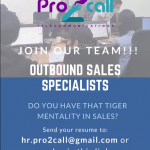 Outbound Sales Representative